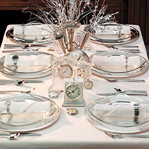 Celebrate New Years Eve In Style Beautiful And Festive Table