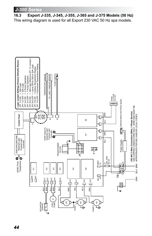48 JACUZZI J 480 CIRCUIT BOARD on