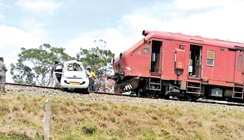 Four dead at rail crossing collision