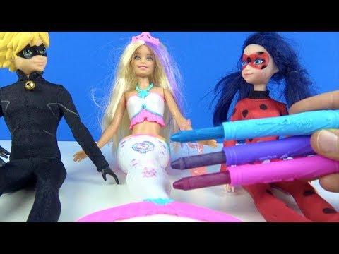 Mucize Uğur Böceği Ile Kara Kedi Bebek Deniz Kızı Barbie Kostümü
