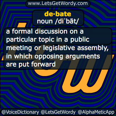 Debate 09/26/2013 GFX Definition