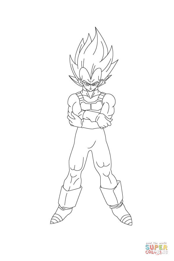 The Best Free Vegeta Drawing Images Download From 423 Free Drawings