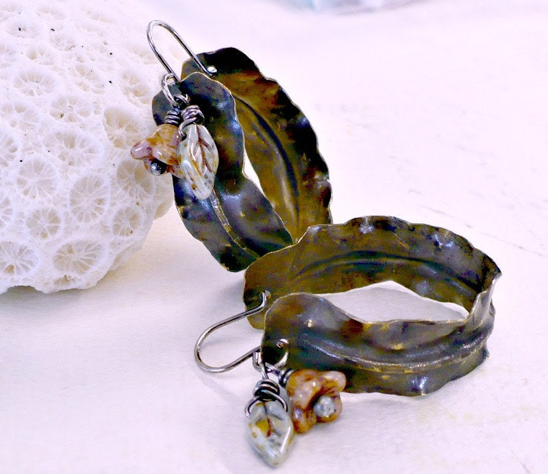 handmade art earrings by Melissa Meman
