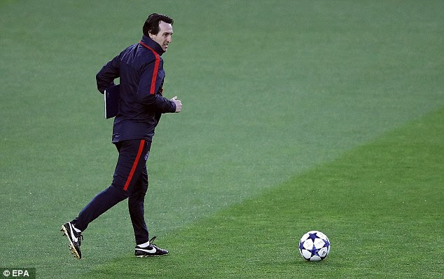 Unai Emery had only beaten Barcelona once in 23 attempts prior to the first-leg in France