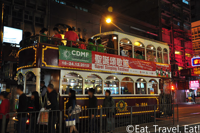 Carol Signing Festival Trolley/ Ding Ding Tram