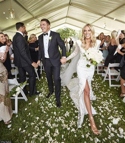 Inside Sam Burgess and Phoebe Hooke's wedding at her