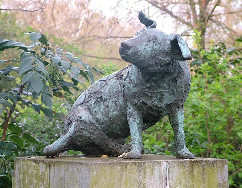 Brown Dog Memorial (photo wikipedia)