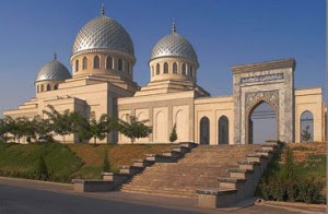 Mausoleum in Shakhimardan