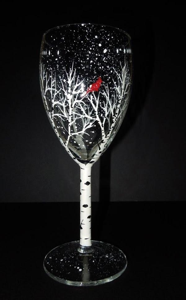Artistic wine glass painting ideas (22)