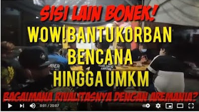 Bonek & Bomber Bersatu Galang Dana Bencana dan Bantu UMKM, Mengapa Tidak...