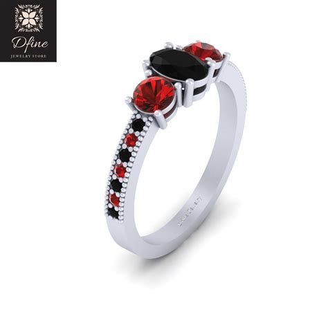 joker girlfriend harley quinn inspired wedding ring