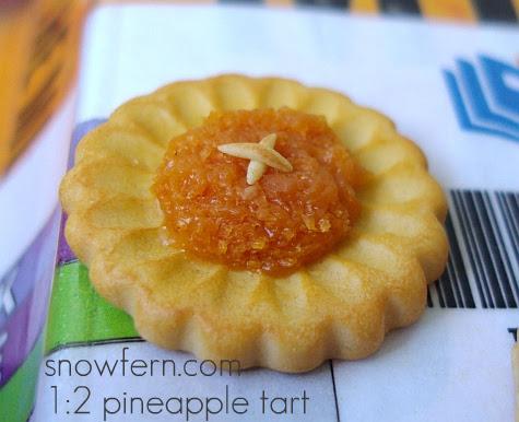 1:2  pineapple tart