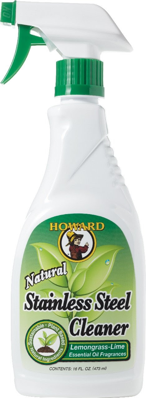 Amazon.com: Howard Products SS5012 Natural Stainless Steel Cleaner ...