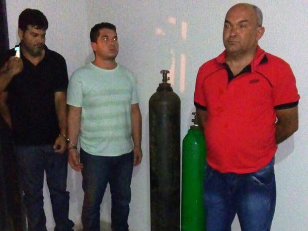Sargento é preso suspeito de participar de quadrilha (Foto: Divulgação/Seic)