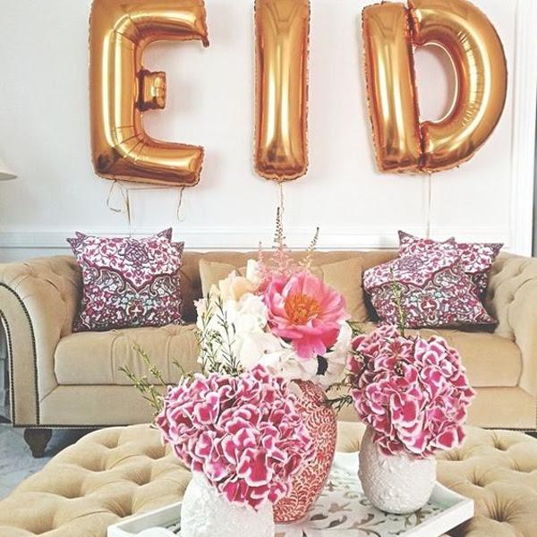 freebie eid  decor  in living room