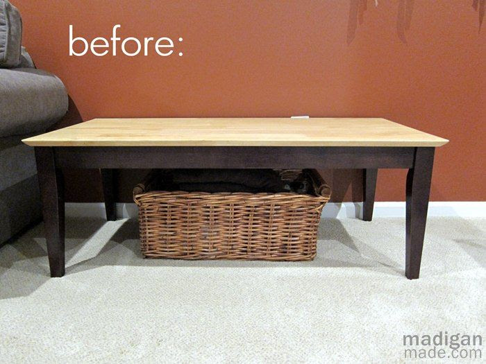 Making an Upholstered Bench from a Coffee Table – DIY Talent ...