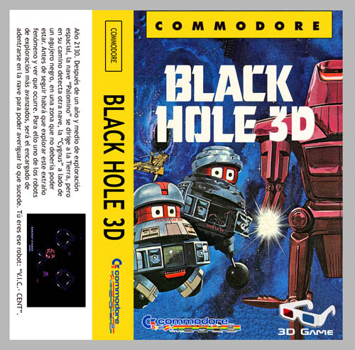 Black Hole 3D - Commodore 64