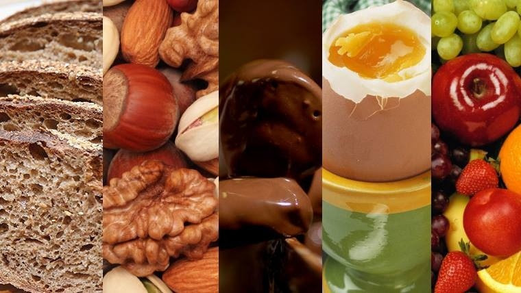 Carbohidratos, frutos secos, chocolate, huevos, frutas, verduras, legumbres y ocho vasos de agua, entre las sugerencias.