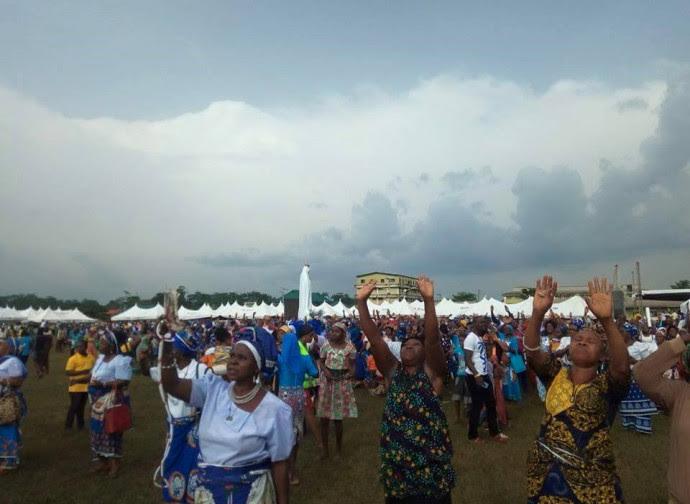 Miracolo del sole in Nigeria