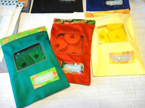 Пакетики с окошком под мелочи