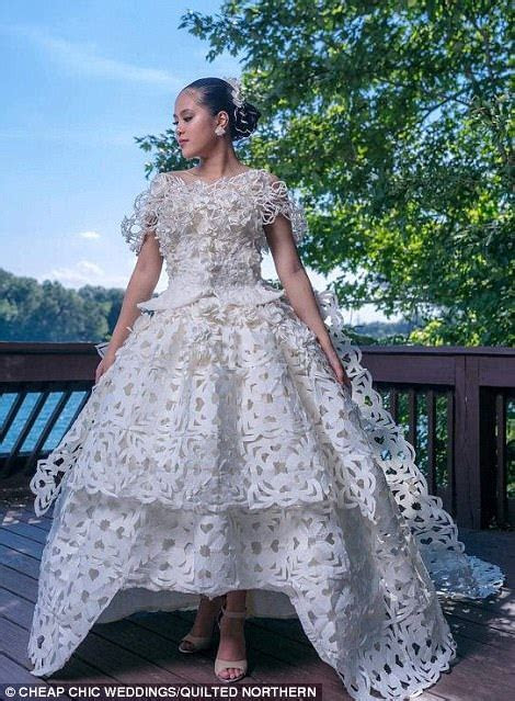 2017 toilet paper wedding dress contest finalist chosen