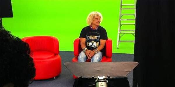 El 'Pibe' será entrevistado por los protagonistas del programa animado.