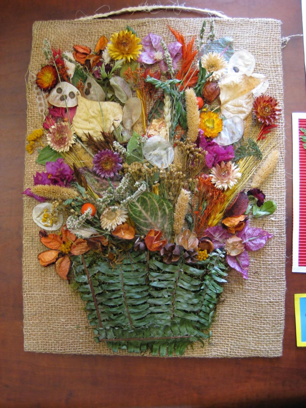 Cuadros Con Flores Secas Pequefelicidad Cuadros Naturales Diy Para