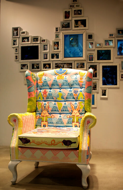 Pops of Color Painted Chairs | HomeJelly