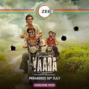 Yaara 2020 Hindi 720p 480p WEB-DL 990MB And 350MB