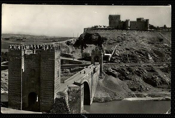 Castillo de San Servando hacia 1958. Foto Arribas