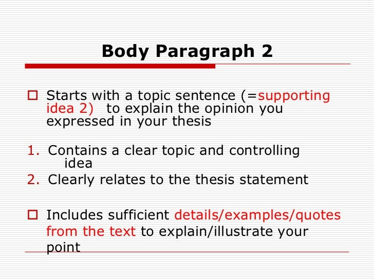 how to make a thesis statement for a reaction paper