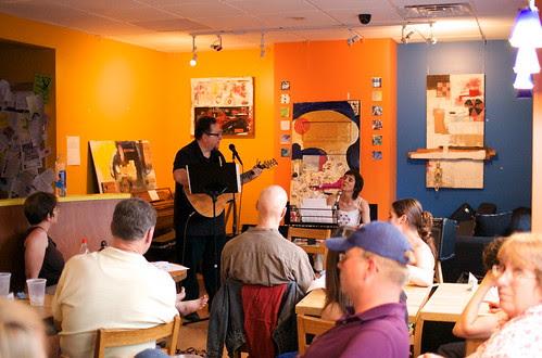 Barry C. at Cafe ZuZu