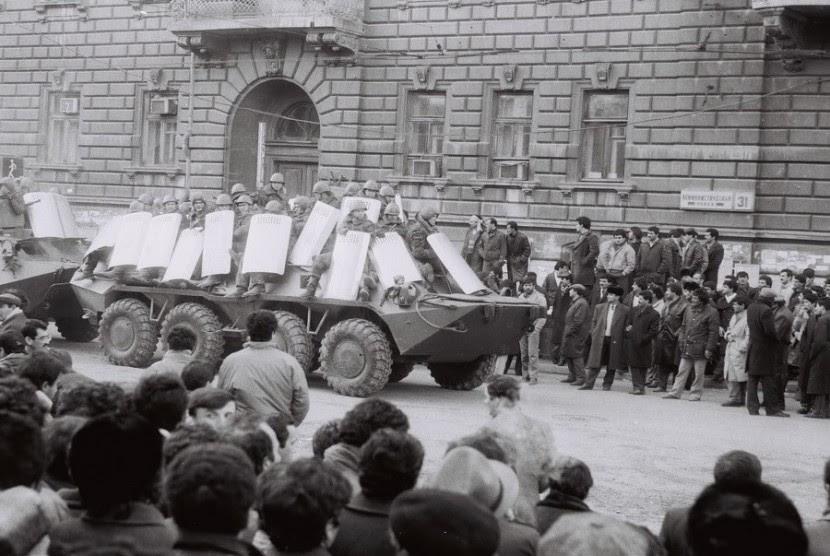 Peristiwa 20 Januari 1990 di Baku.