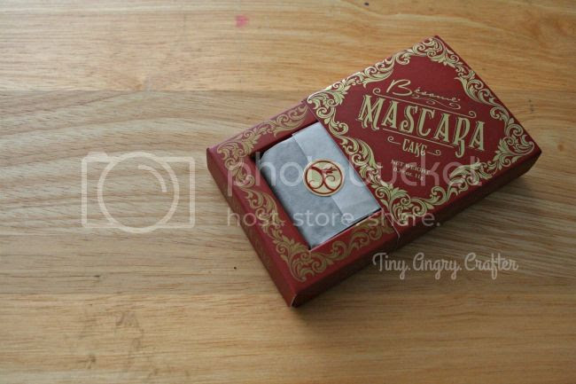 Besame Cosmetics Black Cake Mascara Review via TinyAngryCrafts