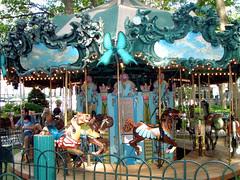 Bryant Park Carousel!