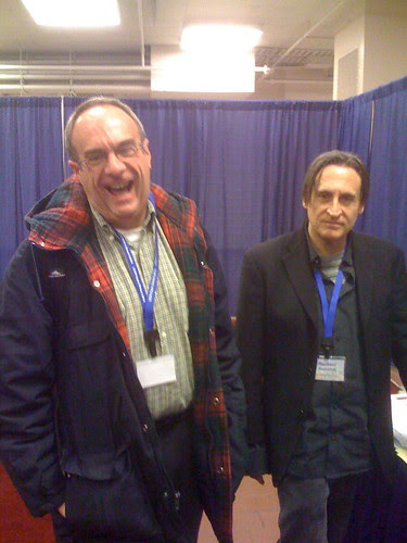 Brian Bouldrey and Wisconsin Press editor