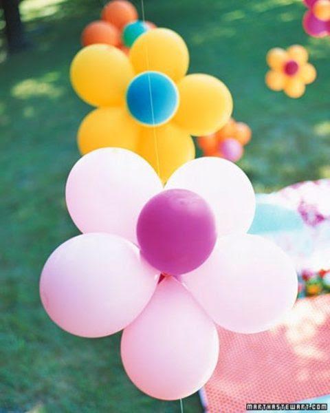 flores con globos Flores con globos: ¡qué gran idea!