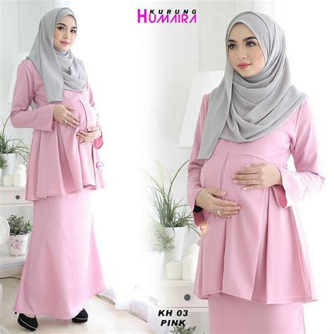 fesyen baju kurung moden  ibu mengandung labzada blouse