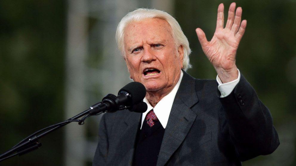 Evangelist Billy Gra