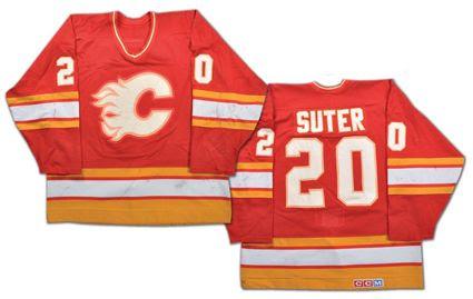 Calgary Flames 88-89 jersey, Calgary Flames 88-89 jersey