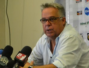 Josué Teixeira - técnico do ABC (Foto: Jocaff Souza/ GloboEsporte.com)