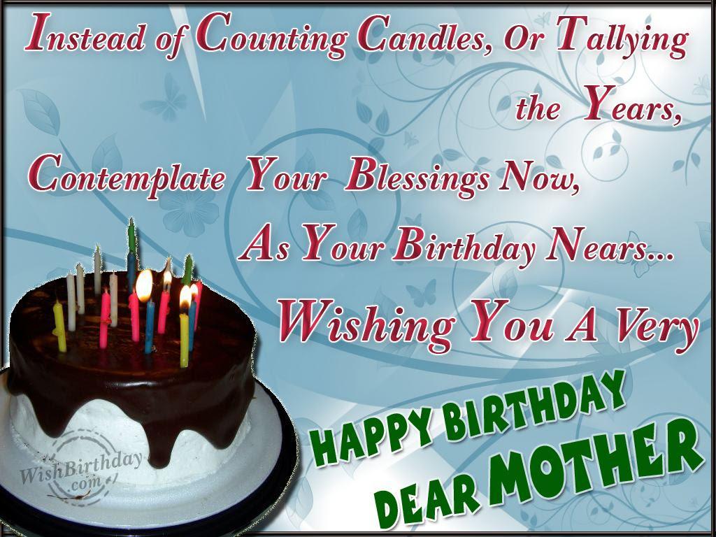 Wishing Happy Birthday To A Dearest Mom WishBirthday