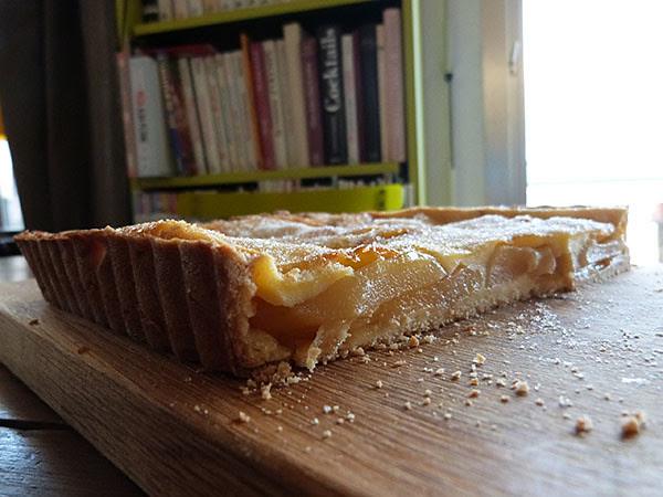 tarte coupée
