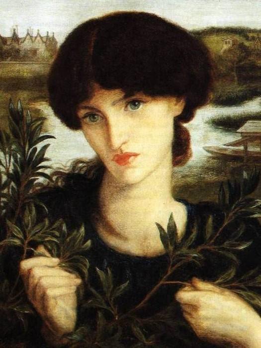 Dante Gabriel Rossetti - Water Willow