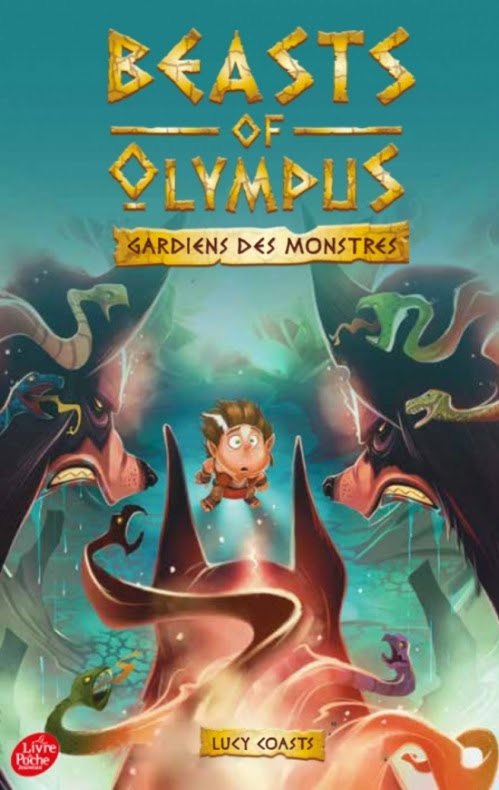 Couverture Beasts of Olympus, tome 2 : Le toutou infernal