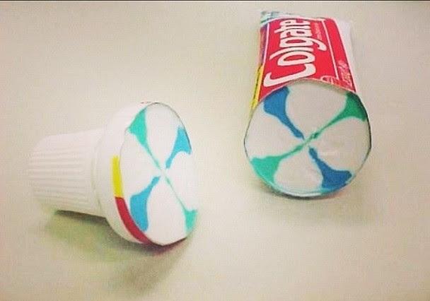 29. Зубная паста  вещь, разрез
