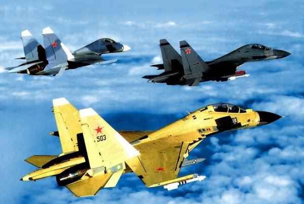 Su-30 J-11 de China