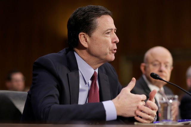 Le directeur du FBI, James Comey.... (PHOTO REUTERS)