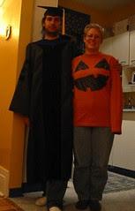 Graduate and Pumpkin