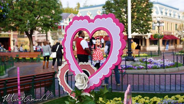 Disneyland Resort, Disneyland, Main Street U.S.A., Town Square, Valentine's Day